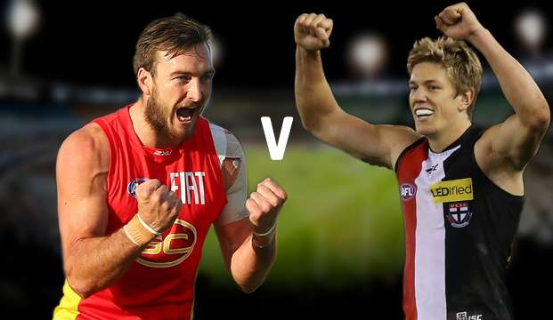AFL. Suns vs Saints