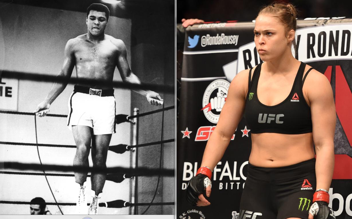 Ronda Rousey v Muhammad Ali