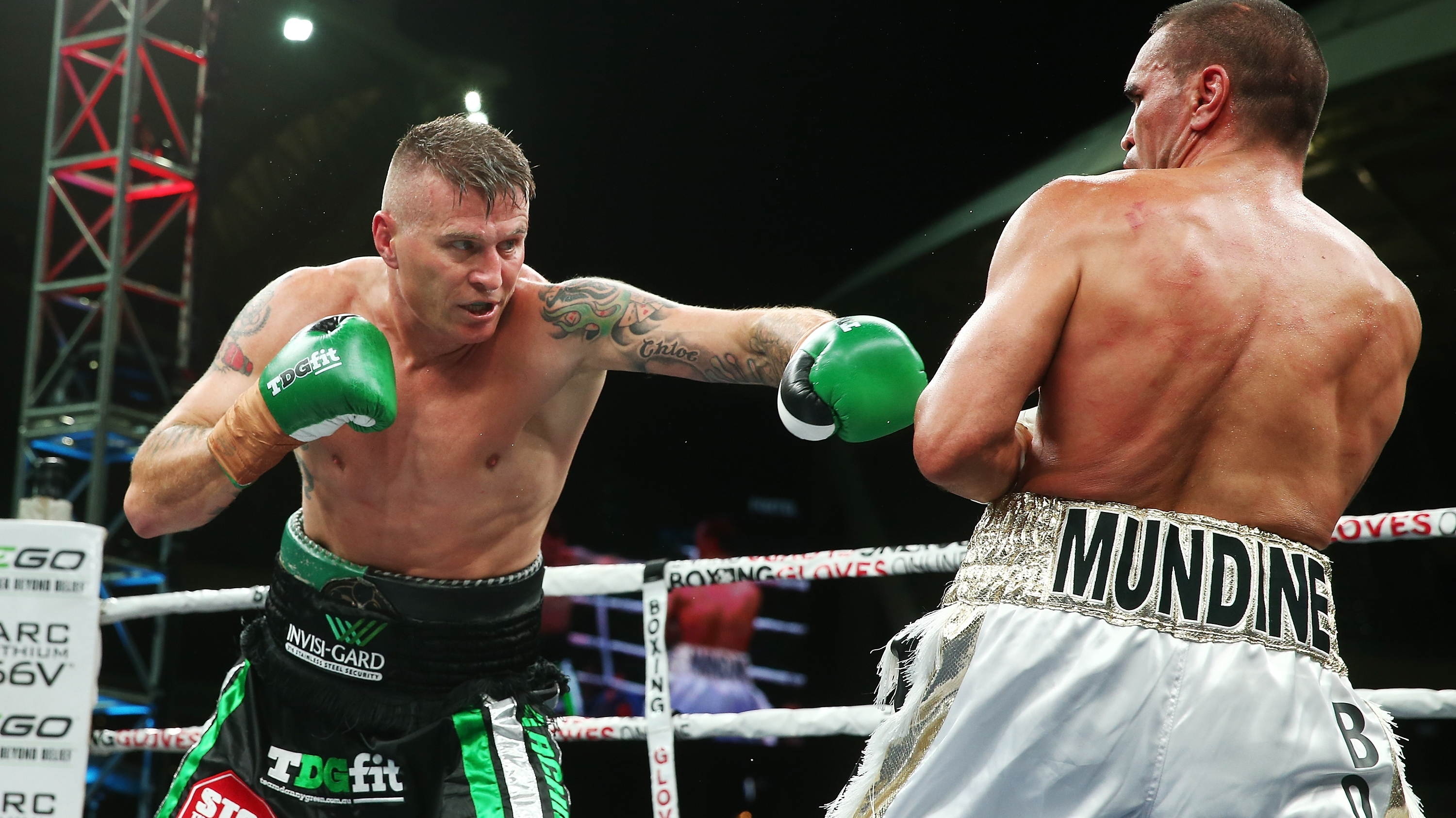 Danny Green defeats Anthony Mundine in 'dirty' rematch ...
