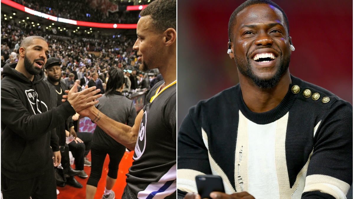Kevin Hart, Drake Diss Meek Mill At NBA All Star Celebrity ...