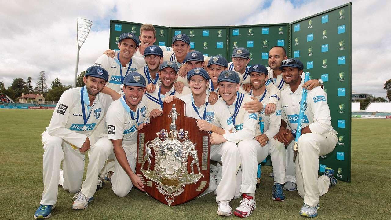 NSW hoists 46th Sheffield Shield