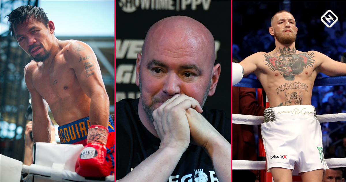 Dana White and Bob Arum shoot down potential Pacquiao-McGregor boxing match