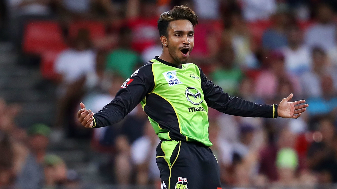 Australia's Arjun Nair suspended for suspect bowling action