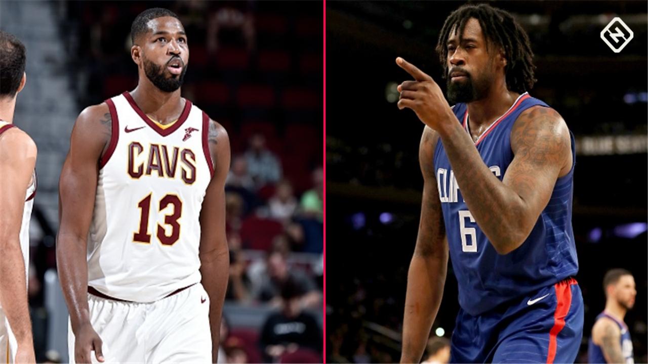 Cavs could consider DeAndre Jordan-Tristan Thompson swap