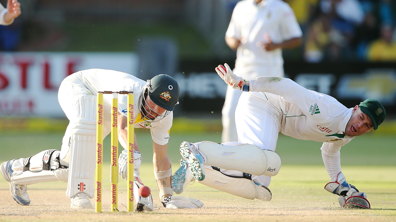 1280. FEBRUARY 23:  AB de Villiers of South Africa