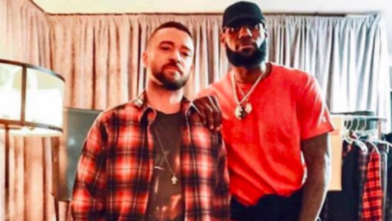 LeBron James Joins Justin Timberlake Onstage At Cleveland Show — Surprise Appearance