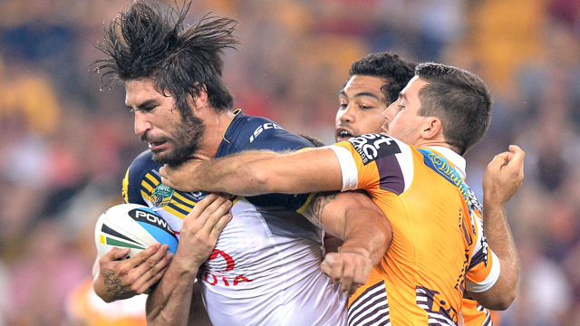 James Tamou of the Cowboys