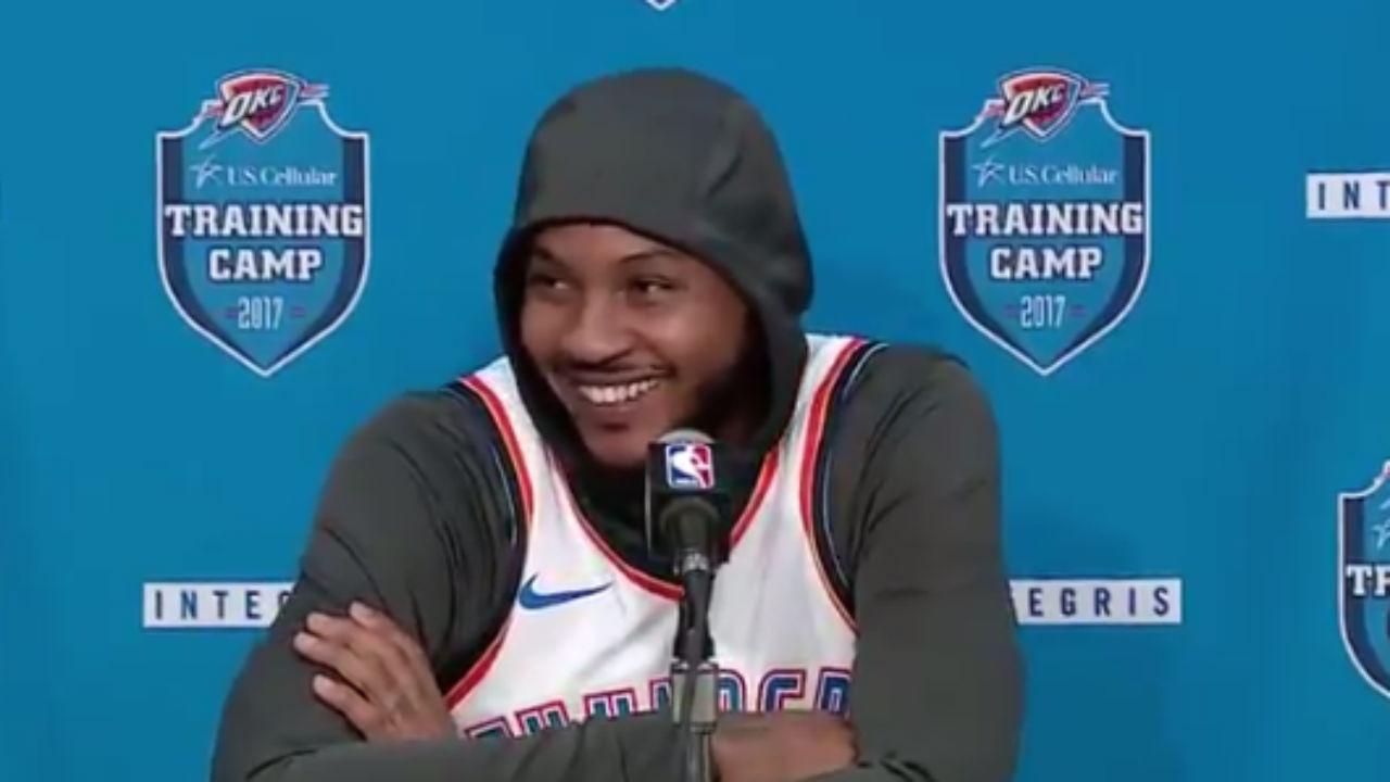 Carmelo Anthony Traded To Oklahoma City Thunder: Report