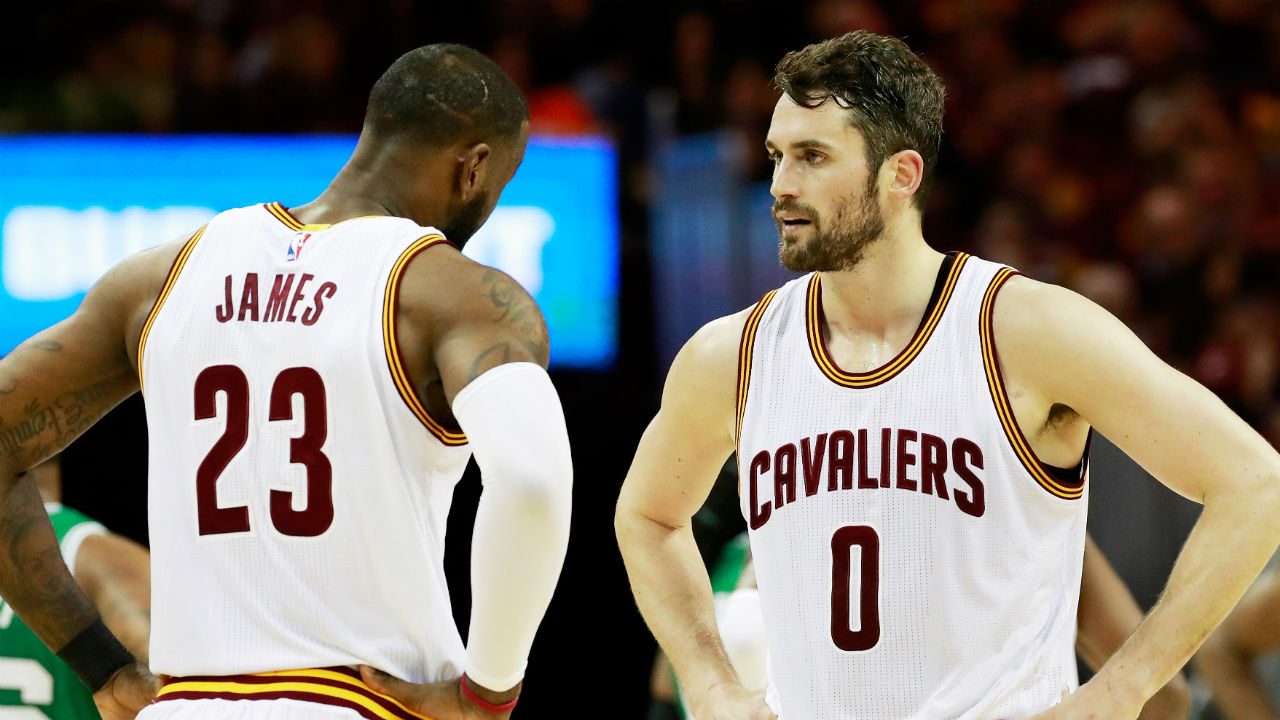 The plus side for the Cleveland Cavaliers: guys don't leave the King