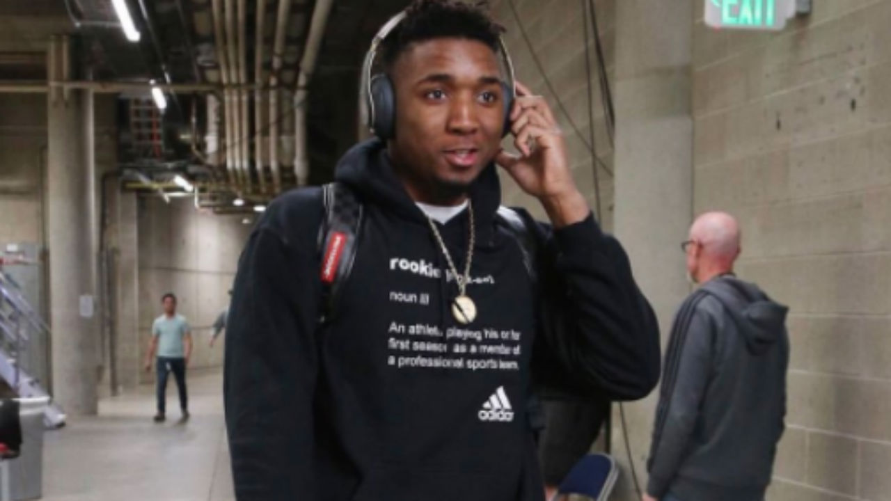 Donovan Mitchell Dons 'Rookie' Hoodie, Still Won't Win ROY