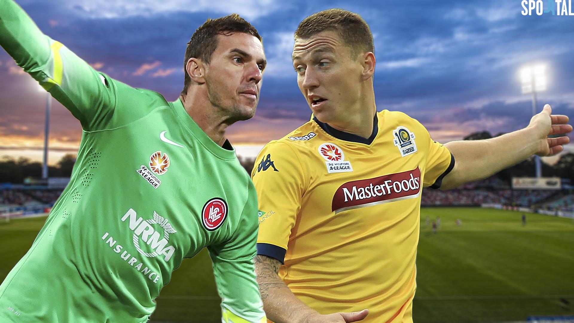 A-League. Western Sydney Wanderers v Central Coast Mariners