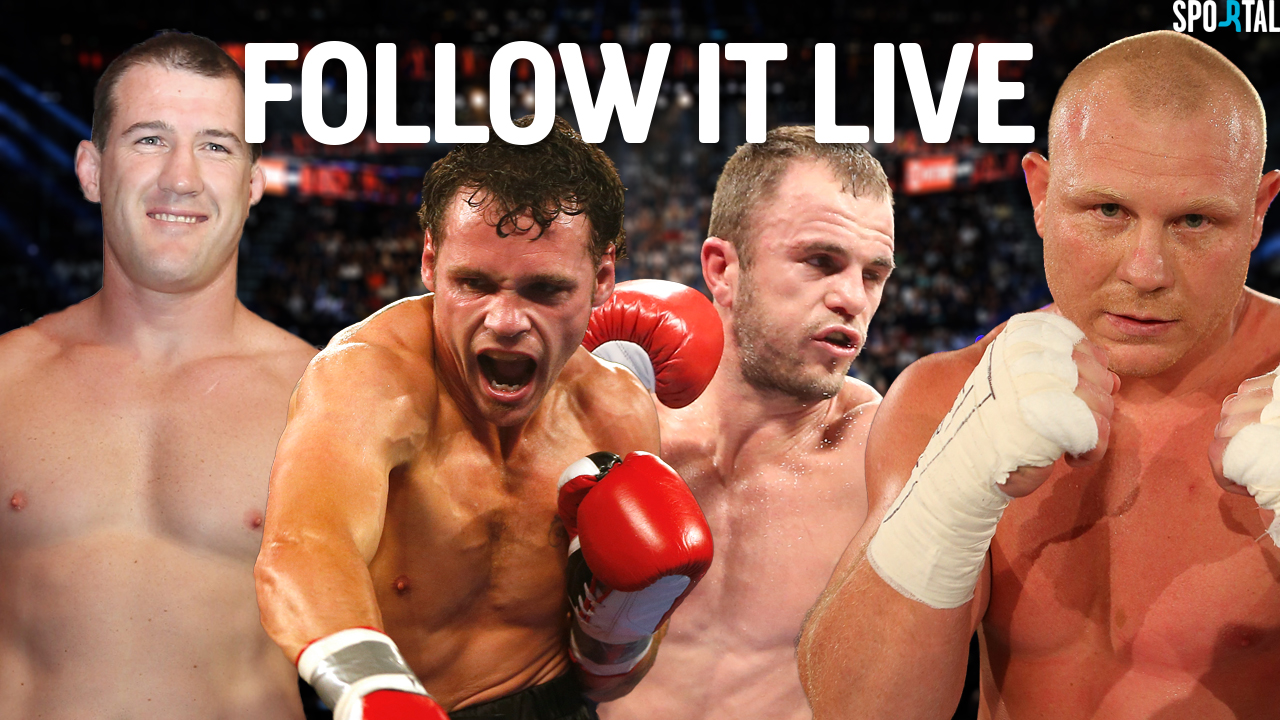 Live Coverage. Boxing. Daniel Geale v Jarrod Fletcher, Paul Gallen v Anthaony Watts