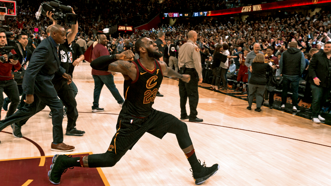 LeBron James' Game 5 performance a reminder that he's forever Cleveland's 'King'