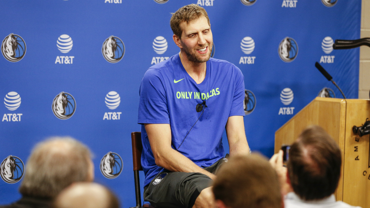 Dirk Nowitzki will come back for his 21st season with the Mavericks