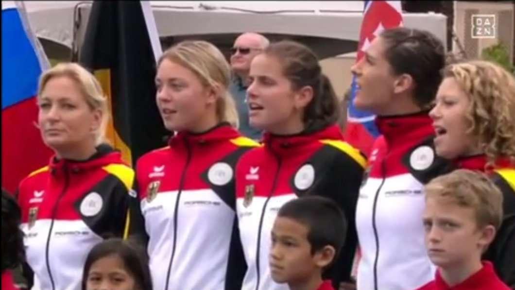 WATCH: USTA play nazi-era national anthem for Germany, forced to awkwardly apologise