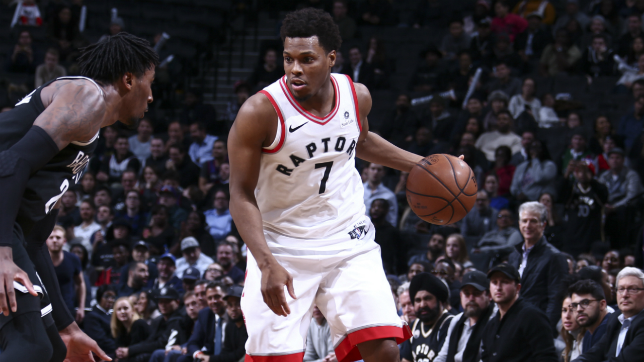 Raptors' Kyle Lowry (tailbone) considered day-to-day