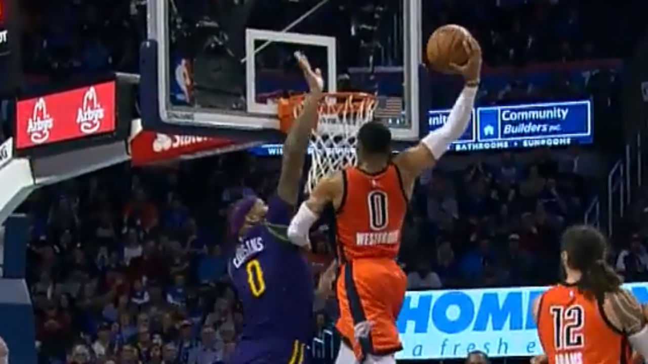 watch westbrook puts cousins on a poster with vicious