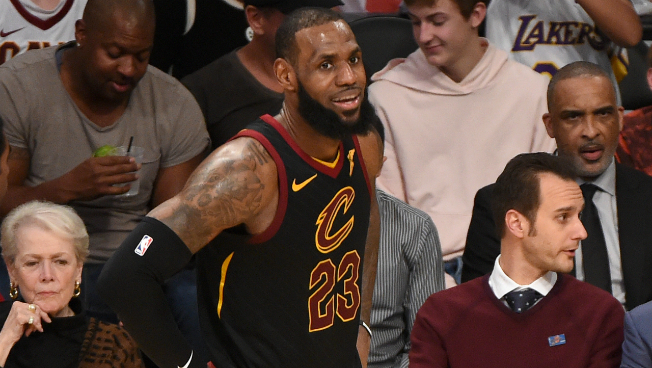 LeBron James Reveals Potential Plans to Play With Son in National Basketball Association