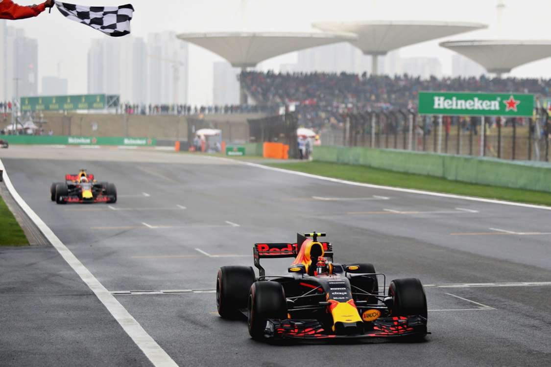 Ricciardo pipped by Verstappen as Hamilton wins Chinese Grand Prix