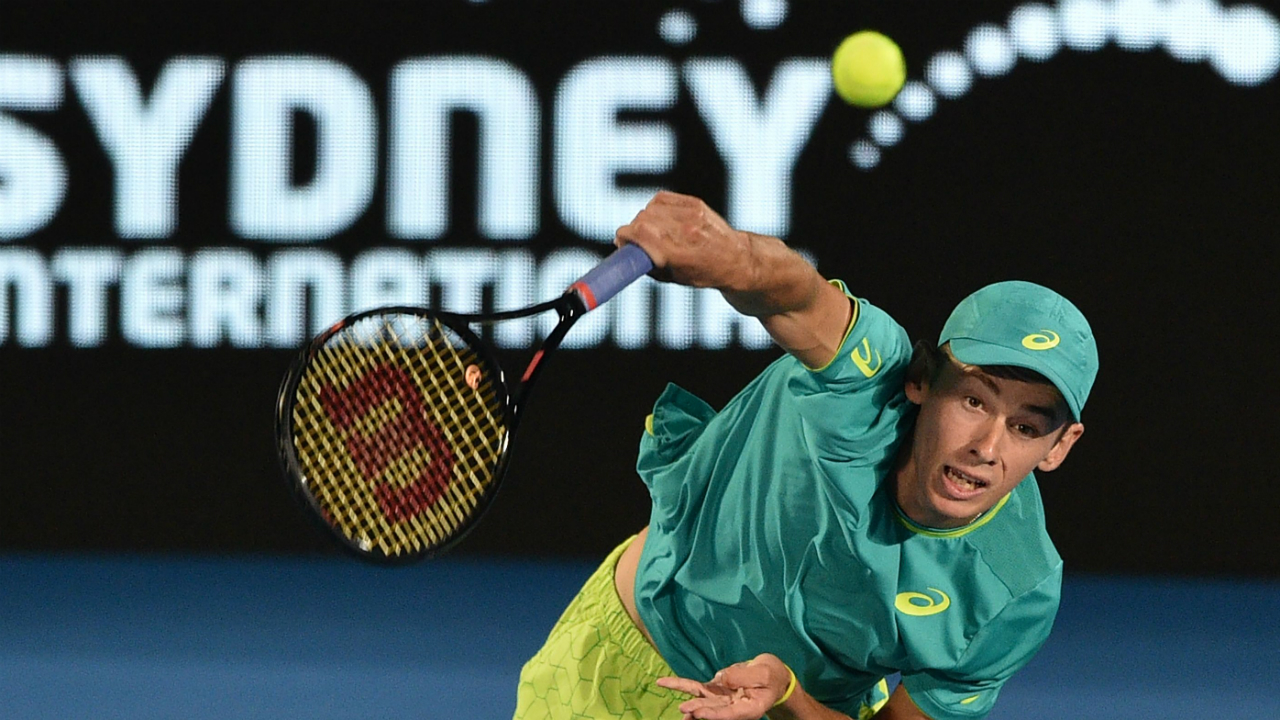 Heartbreak as resilient De Minaur falls in Sydney International final