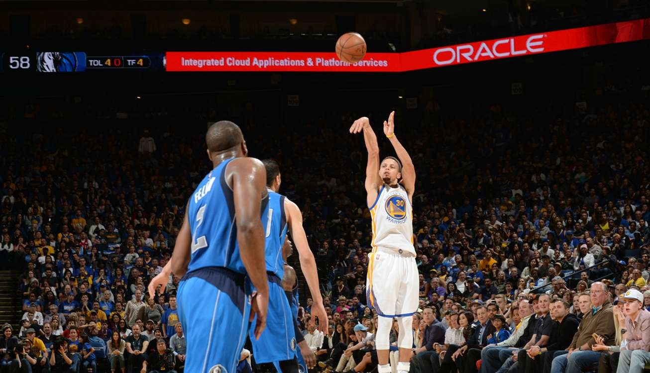 Nba curry hits another three point buzzer beater sportal