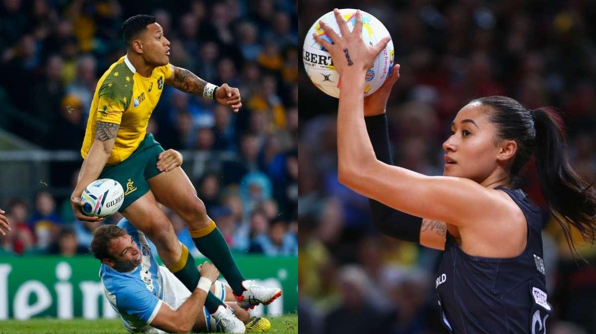 Folau and Tutaia are sport's latest power couple
