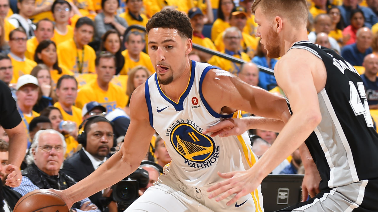 Warriors beat Spurs to take Game 1 in National Basketball Association playoffs