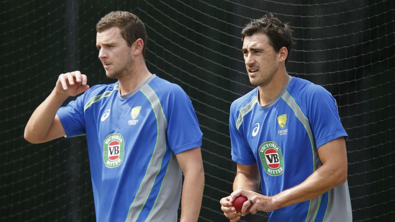 Australia quicks Mitchell Starc and Josh Hazlewood on track for Ashes