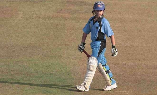 Sachin Tendulkar's son bangs impressive ton