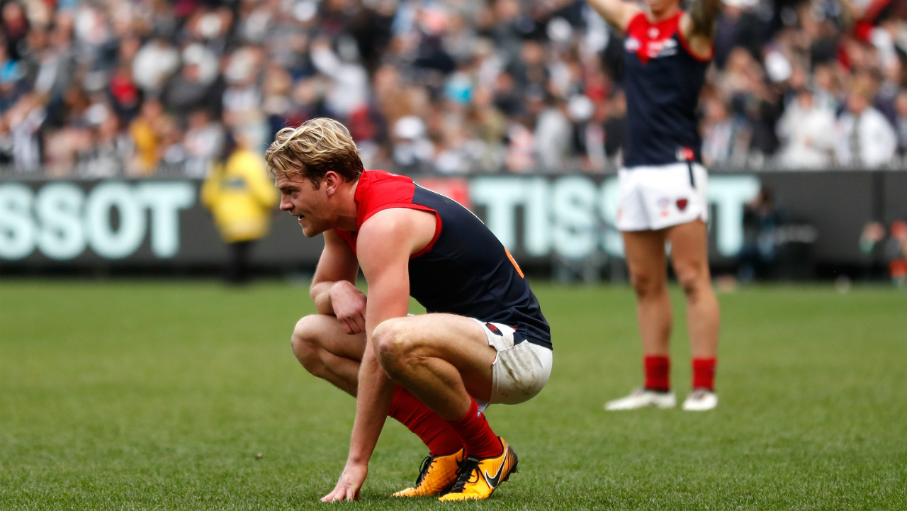 #Melbourne Jack Watts Demons unhappy