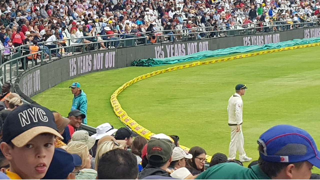 Africa controls 3rd test; Australia complains about…