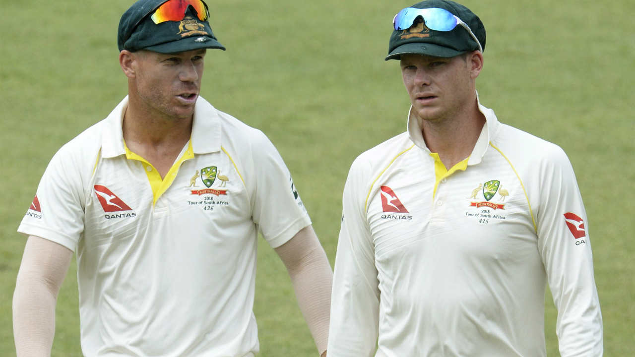 WRAPUP 3-Cricket-Lehmann resigns as disgraced trio return to Australia
