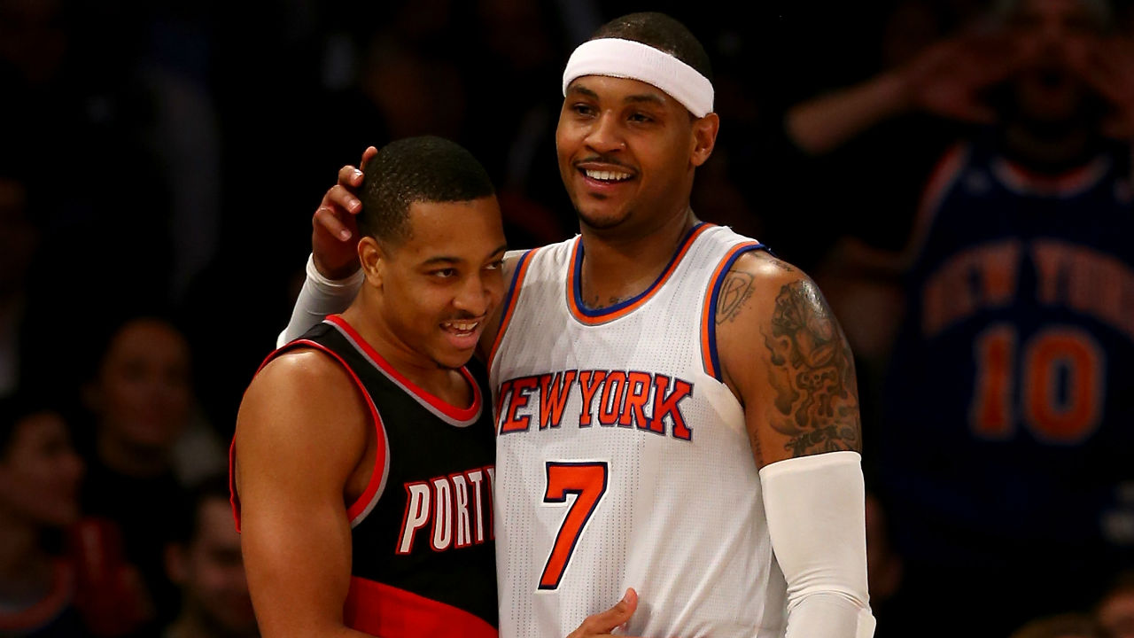 Knicks' Leaders Talk Defense and Tiptoe Around Puzzle of Carmelo Anthony