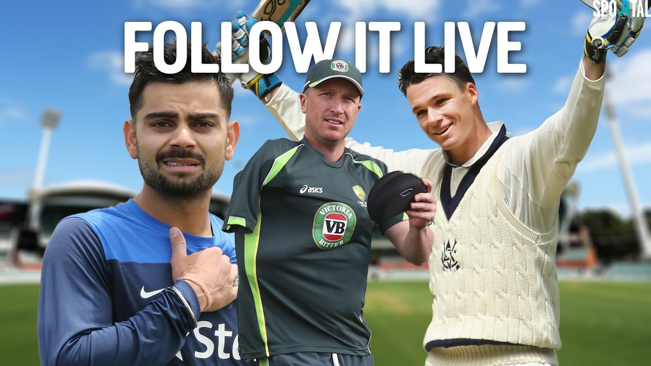 Live Coverage. Cricket.