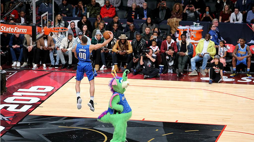 Timberwolves' LaVine won't go for All-Star Slam Dunk three-peat