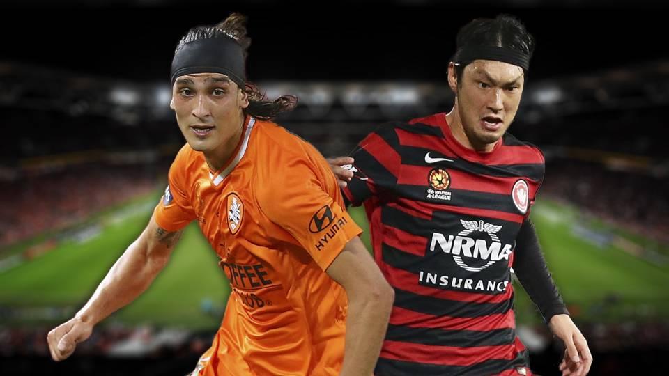 A-League. Brisbane Roar v Western Sydney Wanderers