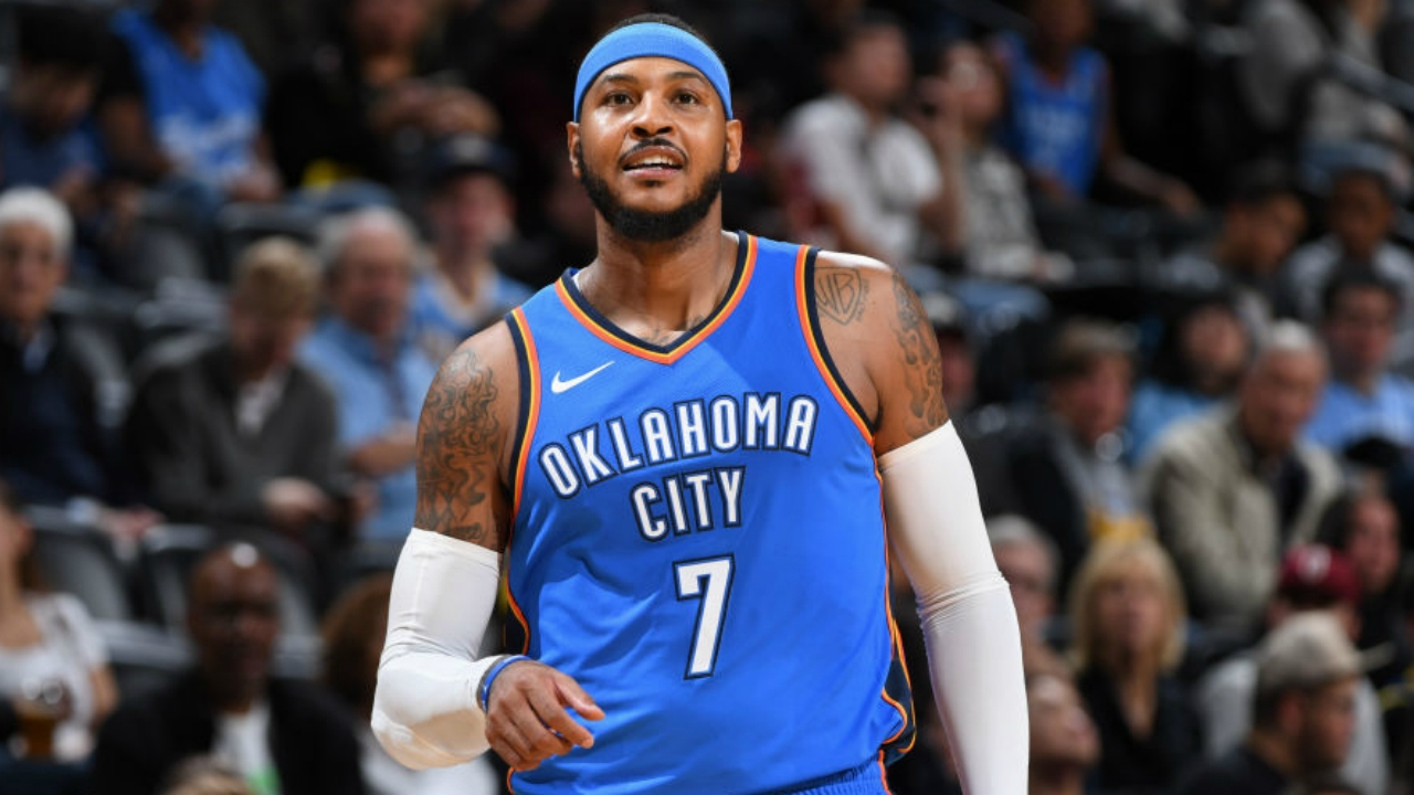 You have to see Carmelo Anthony and Russell Westbrook's ...