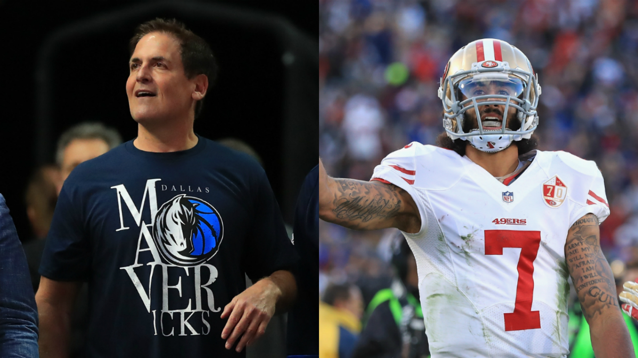 Mark Cuban's opinion on NFL's Colin Kaepernick backed up by National Basketball Association  players