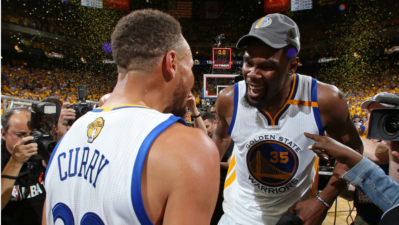 NBA's 10 best championship duos: How high do Stephen Curry and Kevin Durant rank? | Sporting News