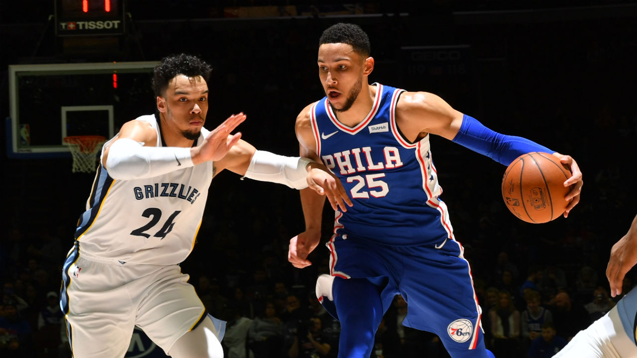 76ers rest starters in 4th quarter after thumping Grizzlies