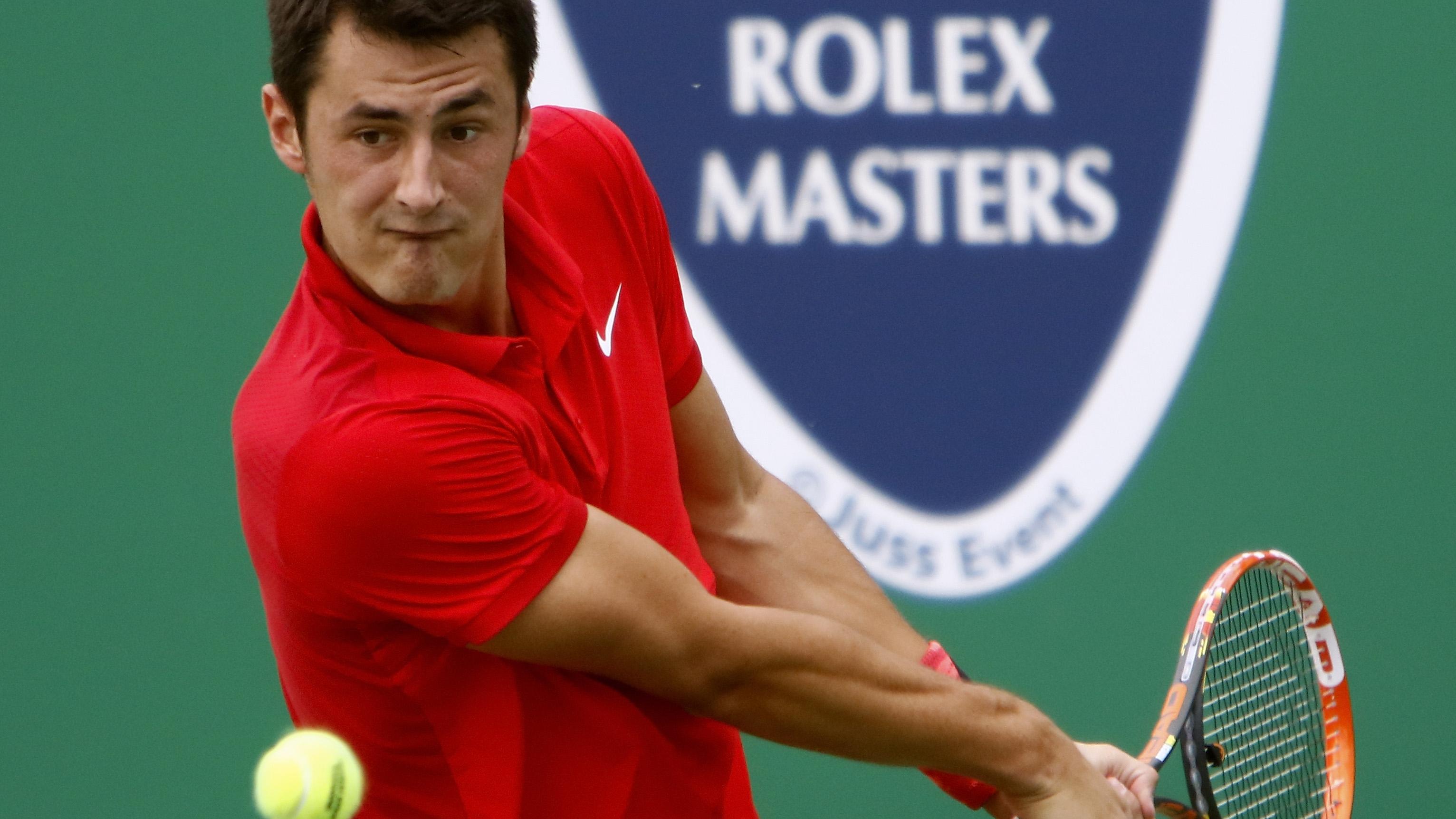 Tomic Upsets Gasquet To Set Up Djokovic Quarter Final Tennis