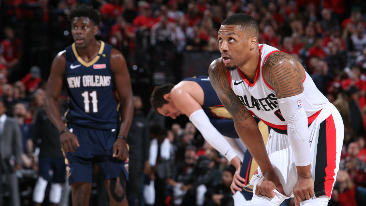 Pelicans Ravage Blazers To Take Commanding 3-0 Series Lead