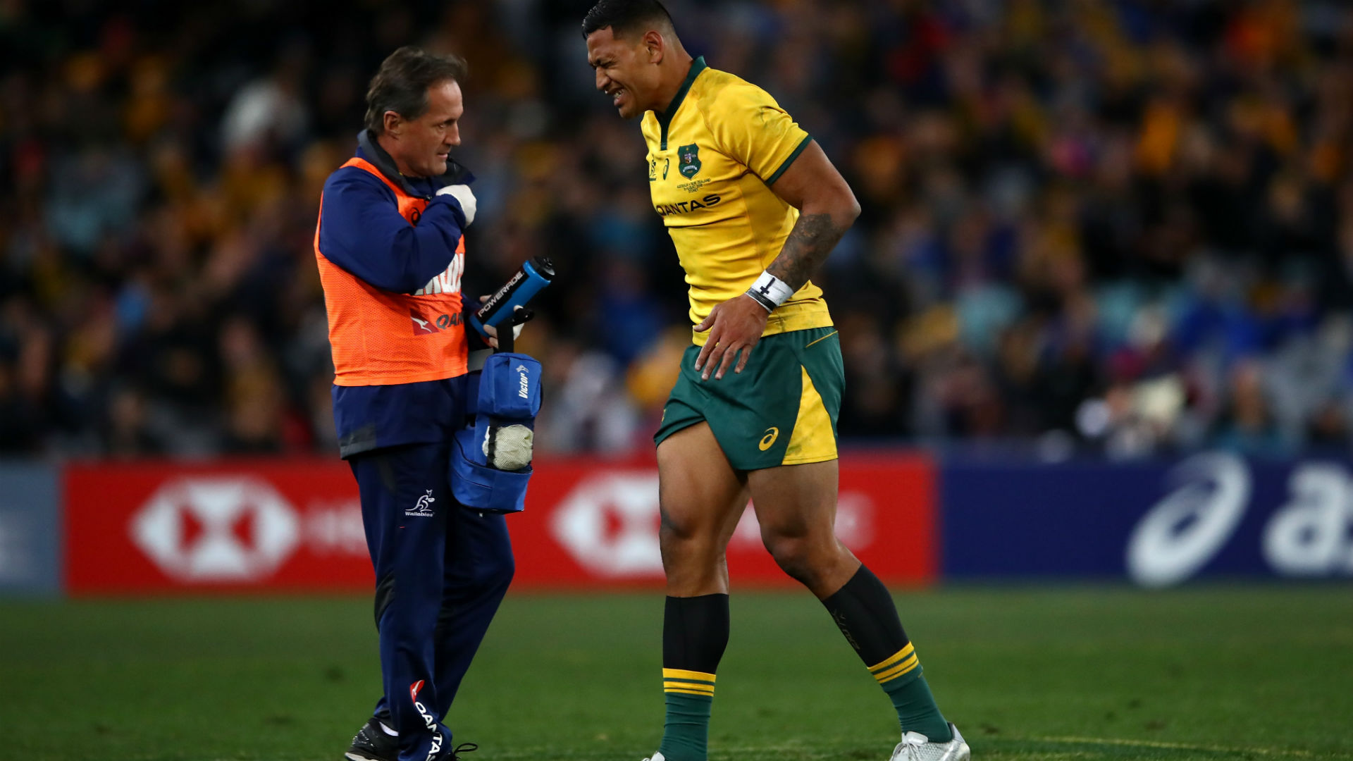 Wallabies star Folau ruled out of second Bledisloe Test