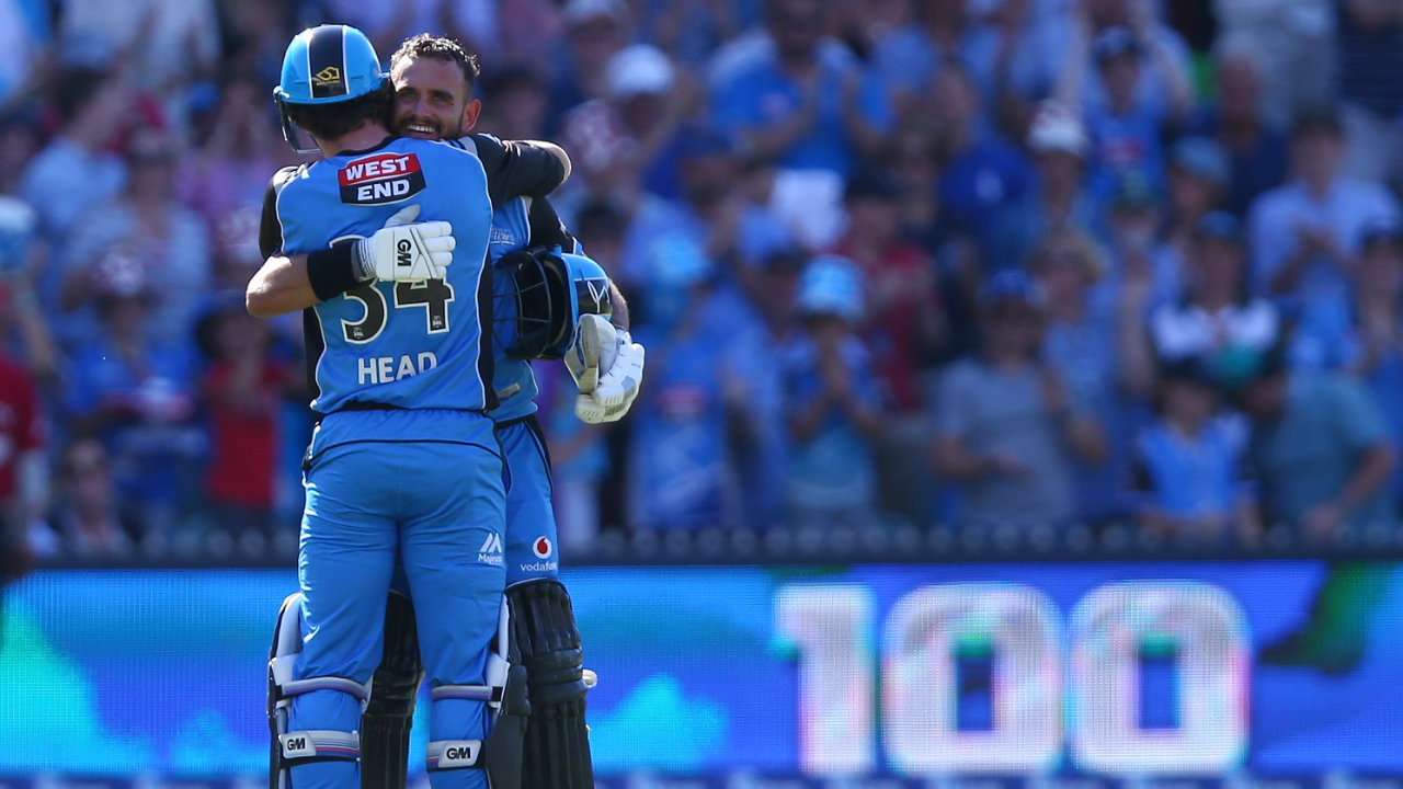 BBL 2017/18 Final: Strikers crowned BBL champions behind Weatherald's 115