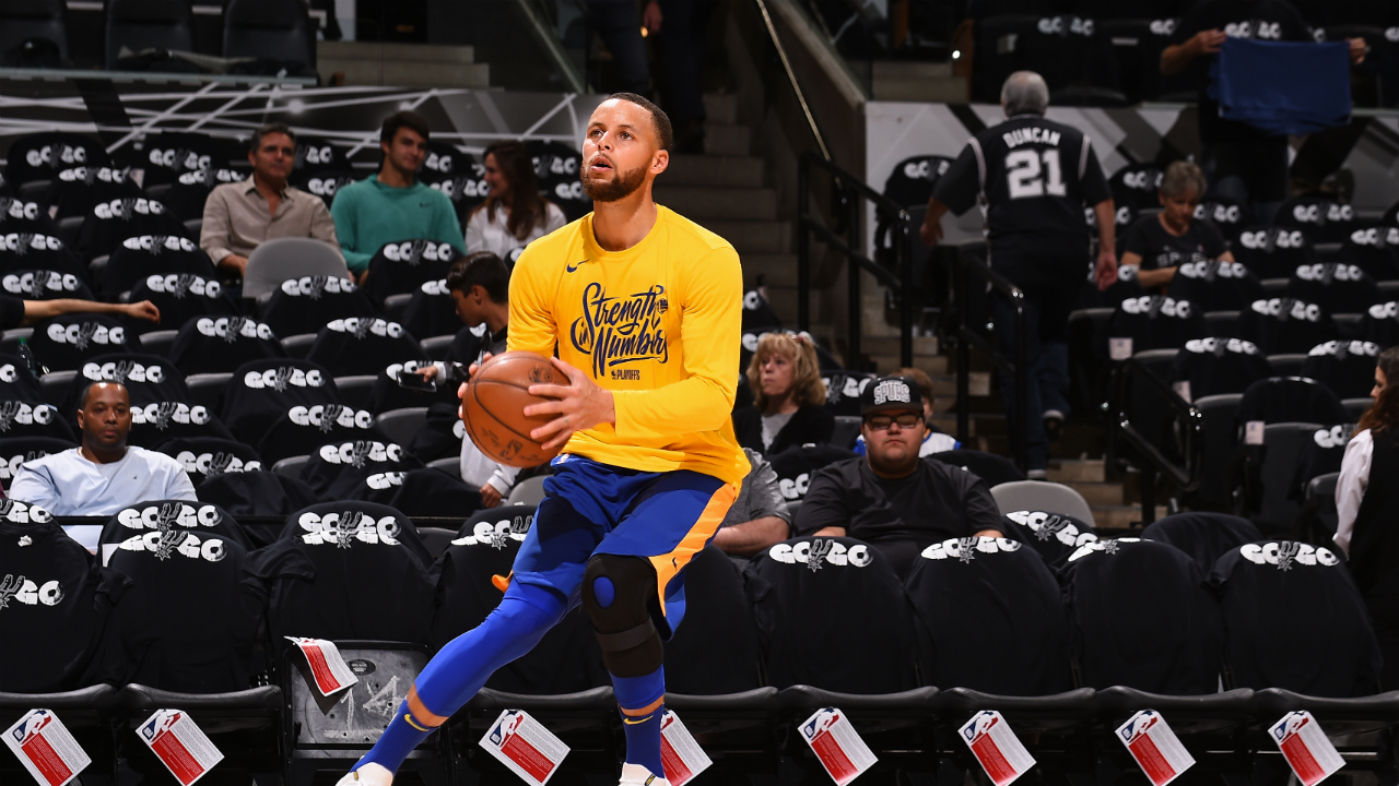 Stephen Curry decision to come after shootaround before facing Pelicans