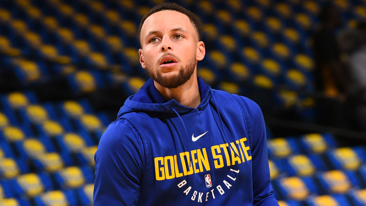 Steph Curry Will be Out at Least Three Weeks with MCL Sprain