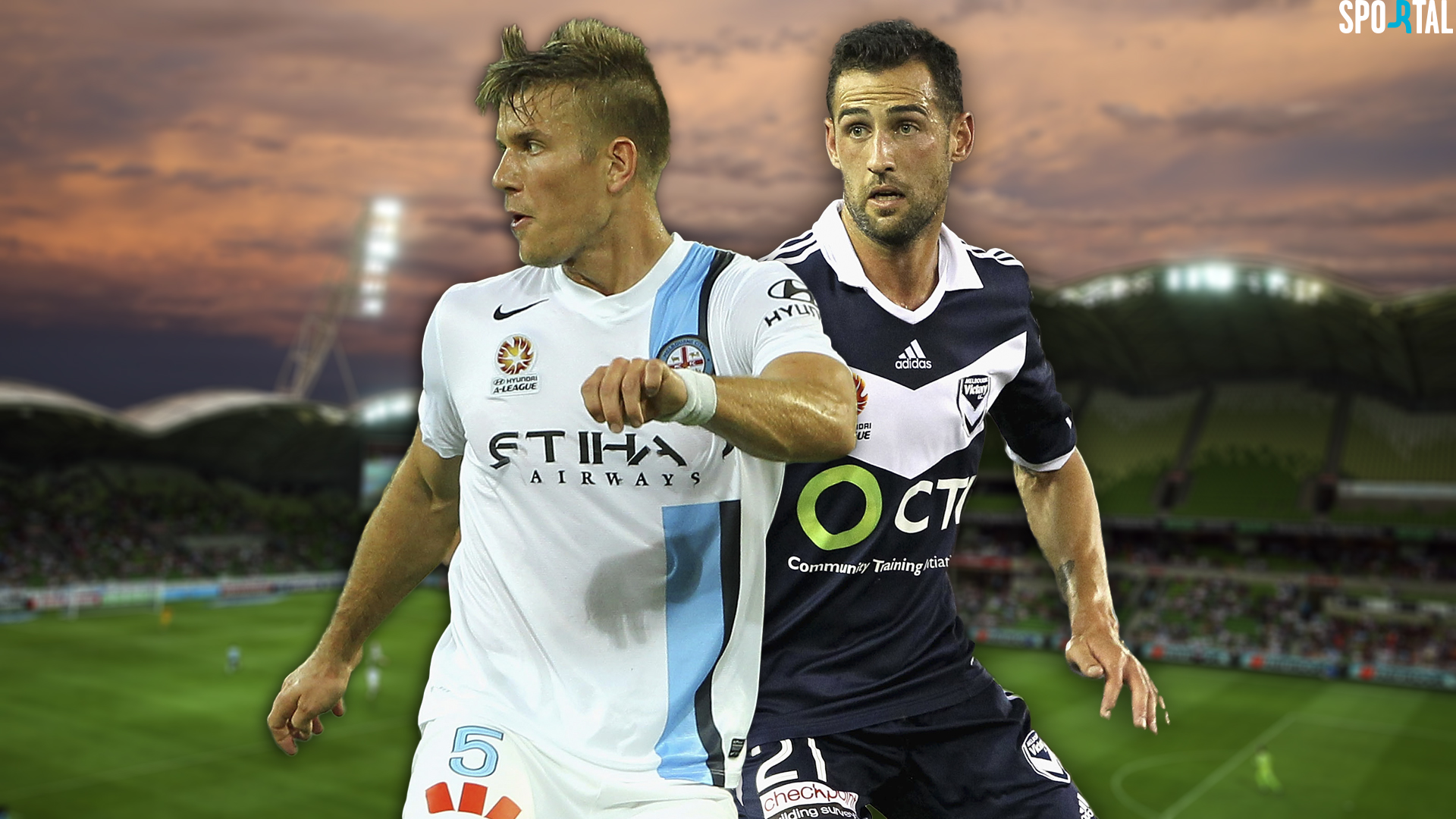 A-League. Melbourne City v Melbourne Victory