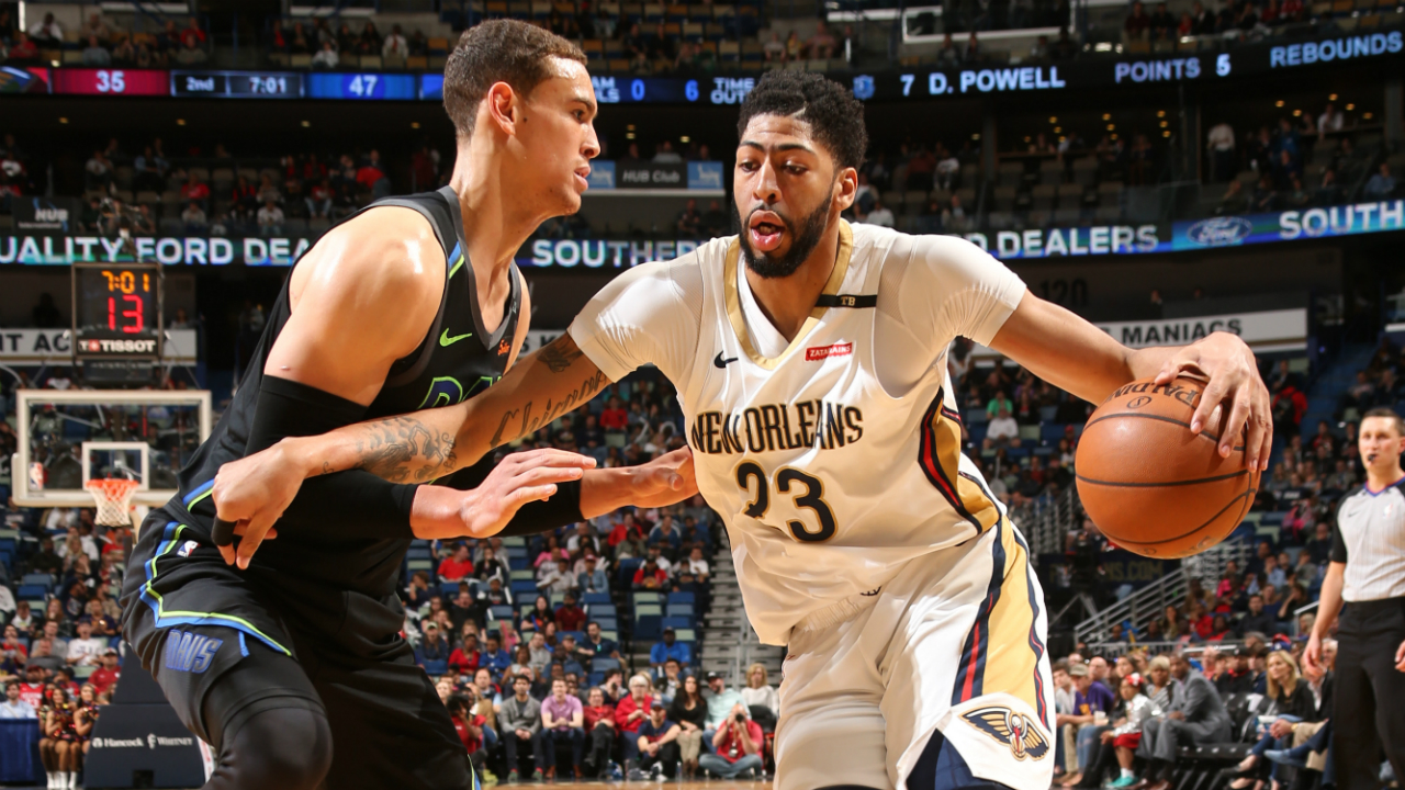 Davis scores 37 as Pelicans beat Mavs