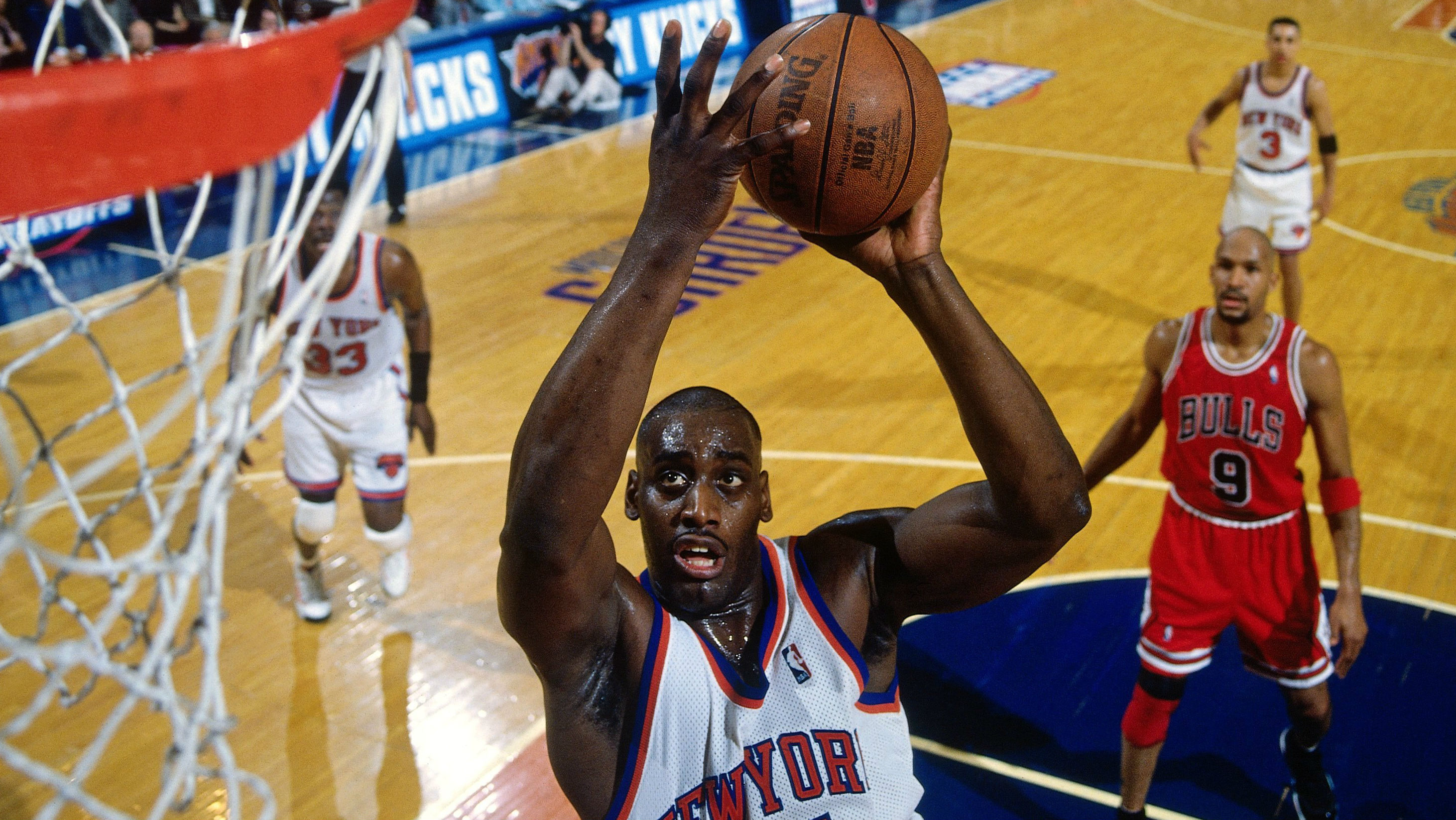 Anthony Mason An Underdog Who Became An Alpha Dog Nba Sporting News