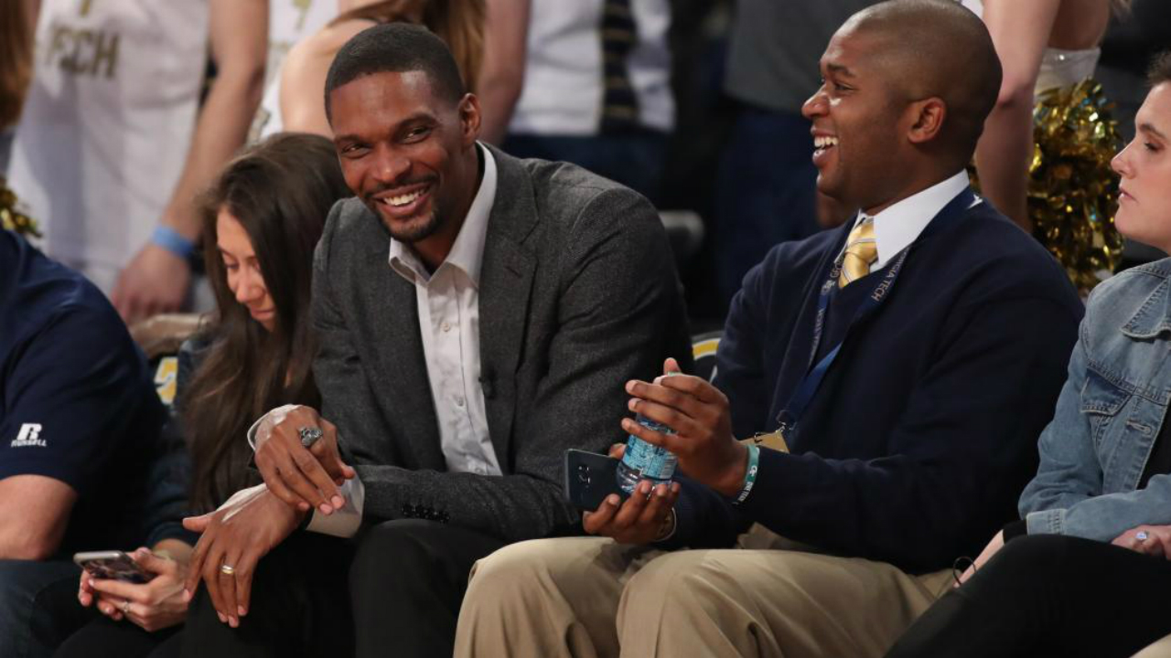 'I'm not done yet,' Chris Bosh says about a possible National Basketball Association return